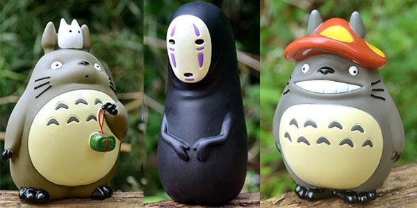 Figuras variadas de Totoro de Studio Ghibli en oferta