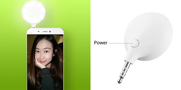 Flash LED Xiaomi para selfies barato