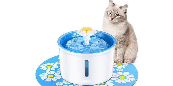 Fuente de agua automática para mascotas barata