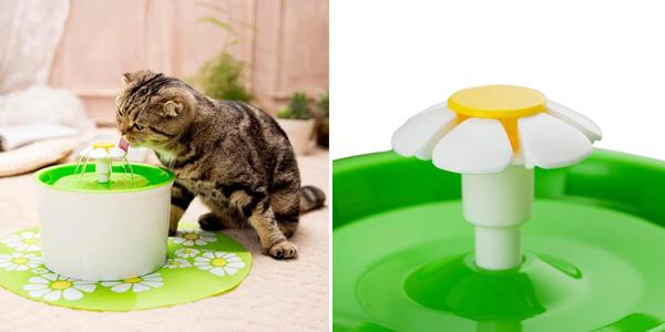Fuente de agua automática para mascotas Sangemama chollo en AliExpress