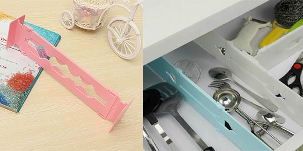 funcional separador de cajones de cocina y oficina
