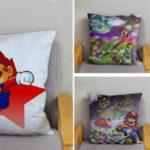 Fundas de cojín Super Mario Bros baratas en AliExpress