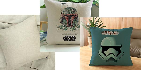 Funda para cojines de Star Wars chollazo en AliExpress