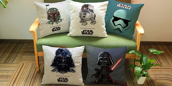 Funda para cojines de Star Wars chollo en AliExpress