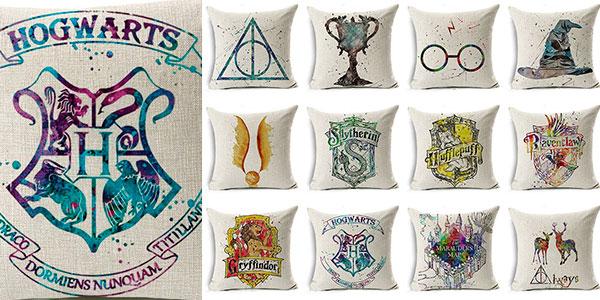 Funda estampada para cojines de Harry Potter en oferta