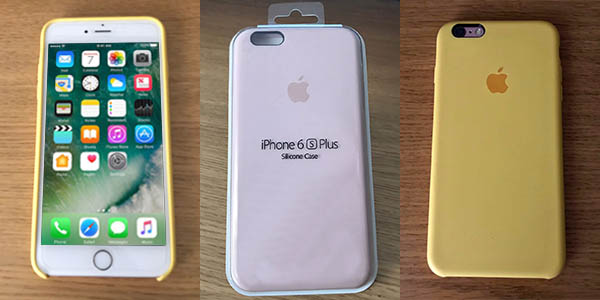 Funda de silicona para iPhone en varios colores