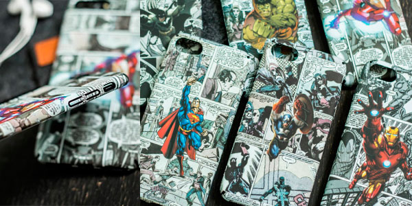Fundas para iPhone de superhéroes Marvel y DC