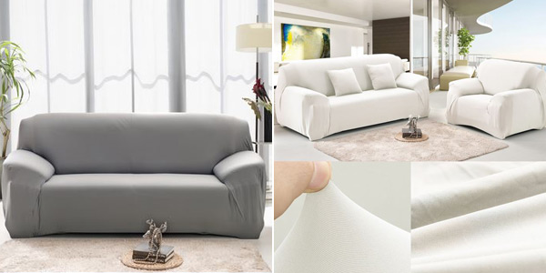 Funda elástica para sofá chollazo en AliExpress