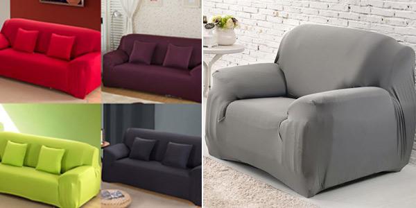 Funda elástica para sofá chollo en AliExpress