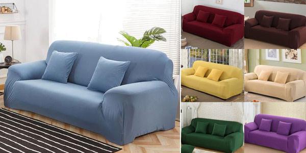 Funda elástica para sofá barata en AliExpress