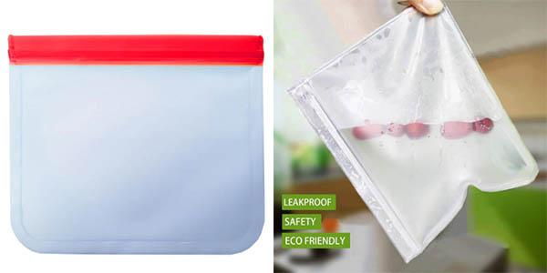 Bolsa para alimentos reutilizable en AliExpress