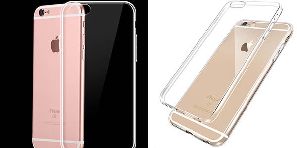 Funda TPU transparente para iPhone