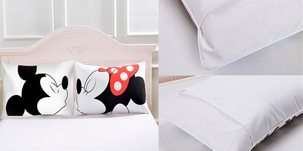 Fundas de almohada Mickey y Minnie en oferta