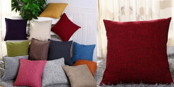 Selección de Fundas de cojín de algodón de 40 x 40 cm o 45 x 45 cm baratas en AliExpress