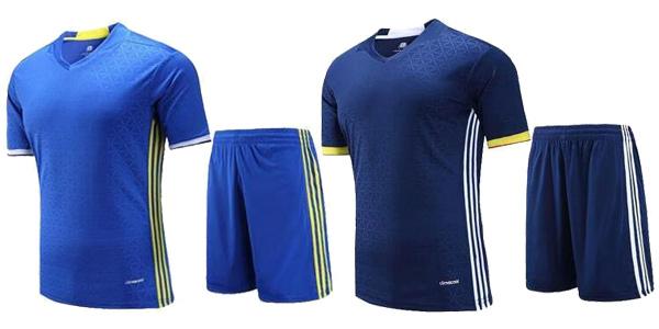 Equipaje fútbol (camiseta + pantalón) barato en AliExpress