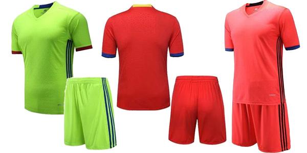 Equipaje fútbol (camiseta + pantalón) chollo en AliExpress