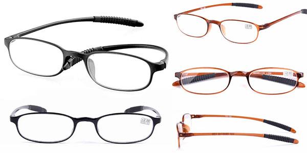 Gafas de lectura flexibles en 2 modelos barata