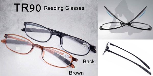 Chollo Gafas de lectura flexibles en 2 modelos