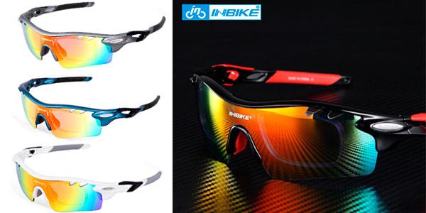Gafas polarizadas de ciclismo Inbike de policarbonato rebajadas