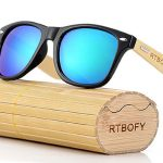 Gafas de sol unisex de bambú