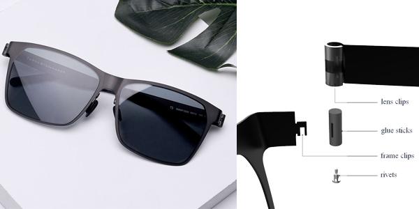 Gafas de sol Xiaomi TS UV400 Traveler chollo en Banggood