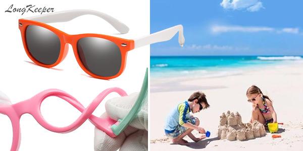 Gafas de sol infantiles polarizadas y con protección UV400 chollo en AliExpress