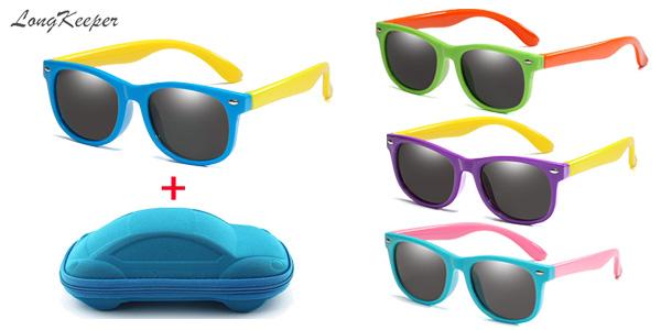 Gafas de sol infantiles polarizadas y con protección UV400 baratas en AliExpress