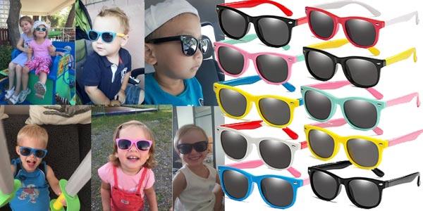 Gafas de sol infantiles polarizadas y con protección UV400 chollazo en AliExpress