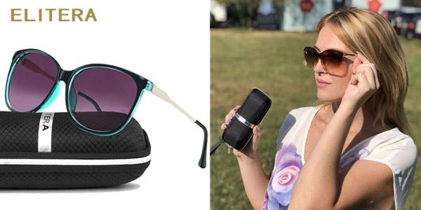 Gafas de sol polarizadas ELITERA para mujer baratas en AliExpress