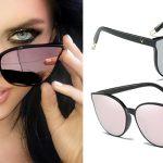 Gafas de sol estilo retro ProudDemon para mujer con protección UV400 baratas en AliExpress