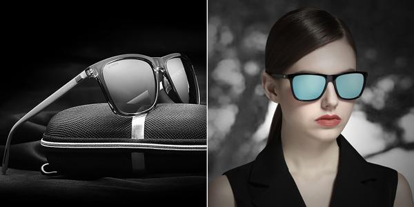Gafas de sol polarizadas VEITHDIA de diseño unisex chollo en Aliexpress