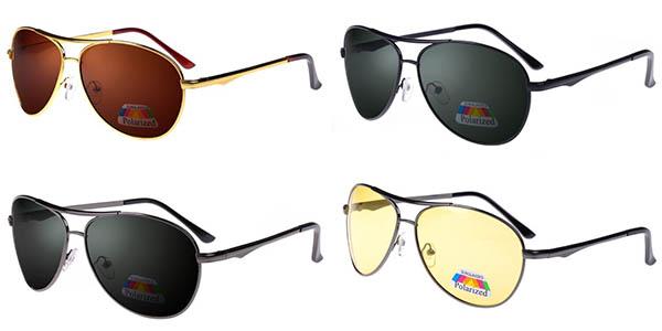 Gafas de sol polarizadas en varios colores