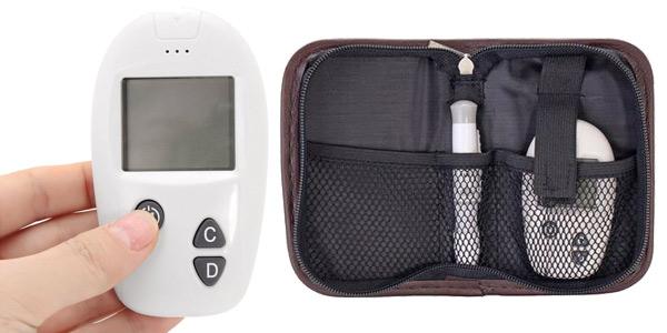 Glucómetro digital barato en Banggood