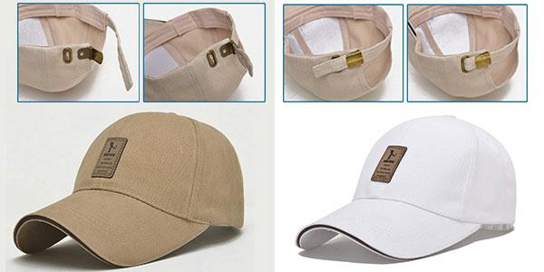Gorra de béisbol para adultos unisex en varios colores ajustable barata