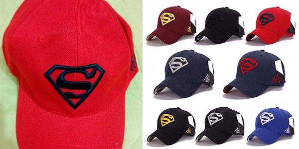 Gorra de béisbol de Superman barata