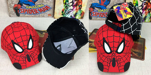 Gorra infantil de Spider-Man en varios modelos barata