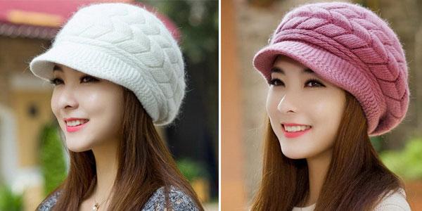 Gorra de punto para mujer barata en AliExpress
