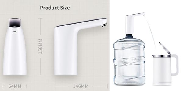 Grifo automático para garrafas Xiaomi 3LIFE barato en Banggood