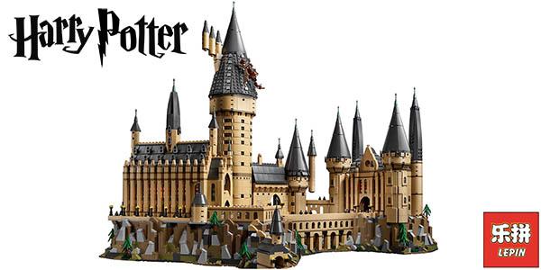 Castillo de Hogwarts de Harry Potter tipo LEGO