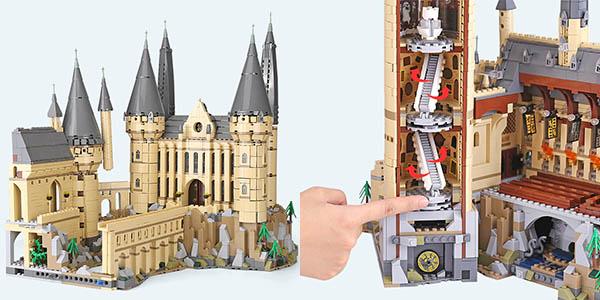 Castillo de Hogwarts de Harry Potter estilo LEGO barato