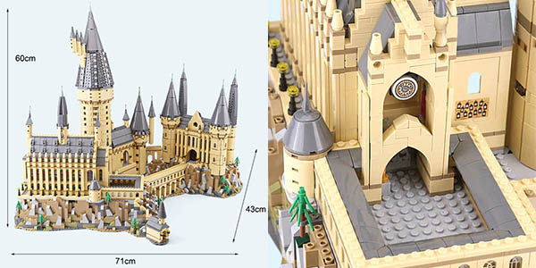Castillo de Hogwarts de Harry Potter tipo LEGO en AliExpress