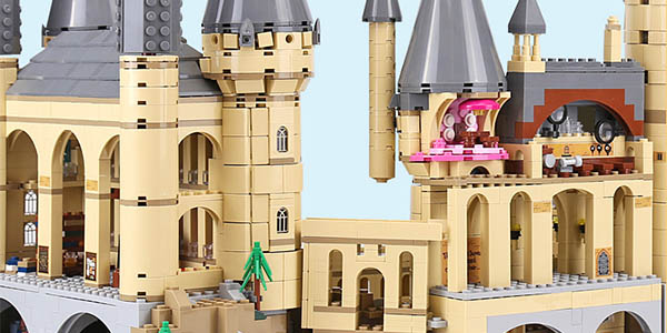 Castillo de Hogwarts de Harry Potter
