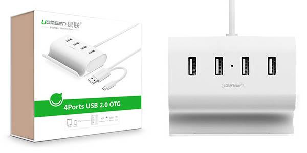 HUB USB Ugreen 4 puertos + OTG