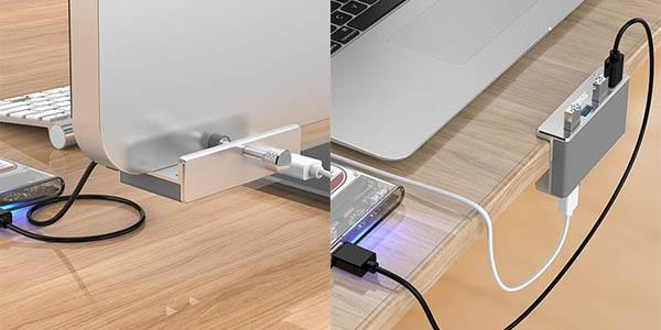 Hub USB ORICO MH4PU con 4 puertos USB 3.0 en Dresslily