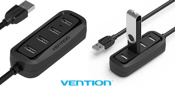 HUB 4 puertos USB 2.0 Vention