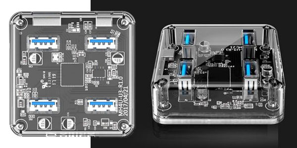 HUB USB 3.0 Orico con 4 puertos USB barato en AliExpress