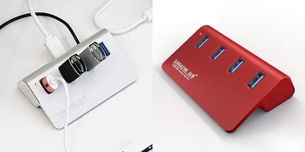 Hub USB 4 puertos USB 3.0 barato