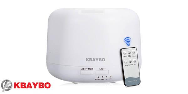 Humidificador LED con difusor de aromas Kbaybo