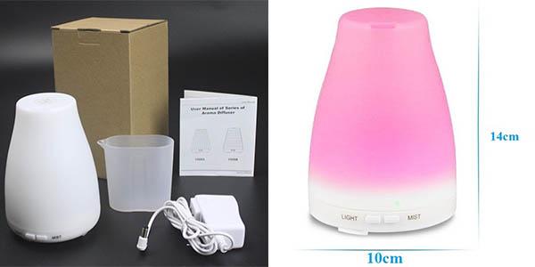 Humidificador LED aromaterapia barato