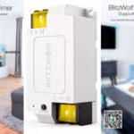 Interruptor inteligente BlitzWolf BW-SS1 compatible con Alexa y Google Assistant barato